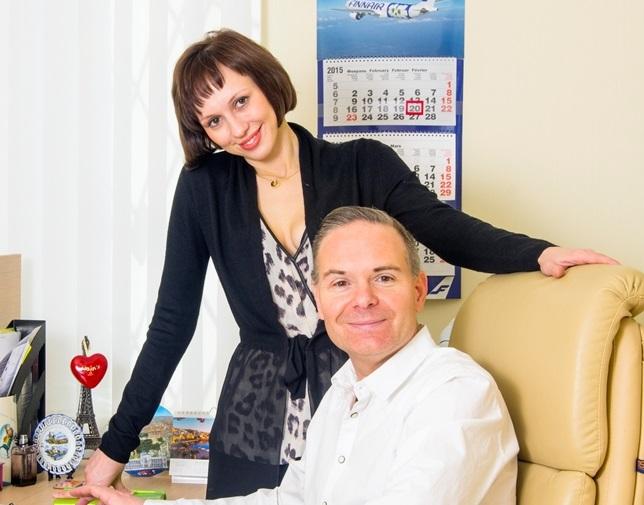 Alisa Komarova et Christophe Macrelle fondateurs et dirigeants.
