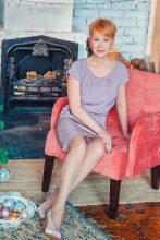 Agence matrimoniale rencontre de NATALIA  femme russe de 61 ans