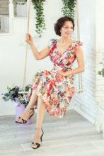 Agence matrimoniale rencontre de VERONICA  femme russe de 57 ans