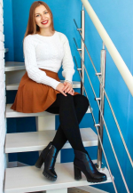Agence matrimoniale rencontre de DARIA  femme russe de 28 ans