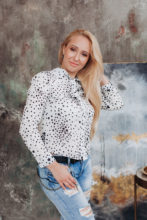 Agence matrimoniale rencontre de MARINA  femme russe de 34 ans
