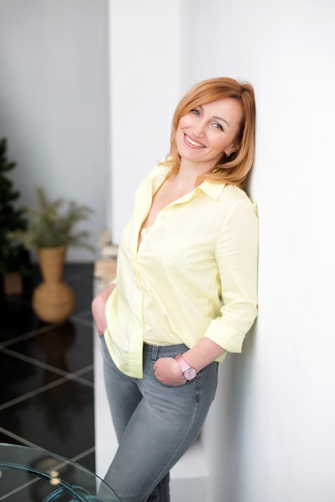 Agence matrimoniale rencontre de Inna  femme célibataire de 46 ans, Dieppe.