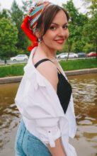Agence matrimoniale rencontre de ANASTASSIA  femme russe de 34 ans