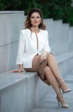 Agence matrimoniale rencontre de ZHANNA  femme russe de 46 ans